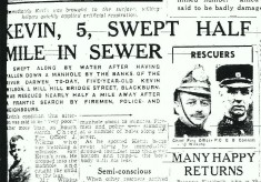 Sewer Rescue Mill Hill Blackburn 1949