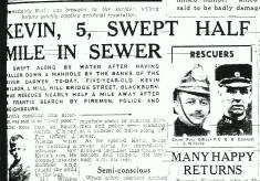 Sewer Rescue Mill Hill Blackburn 1949