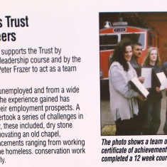Pete Frazer With The Princes Trust 1993
