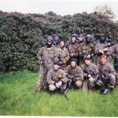 Paintballing Blue Watch Style