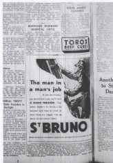 Advert For St Bruno