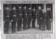 Efficiency Awards For Firemen