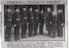Efficiency Awards For Firemen