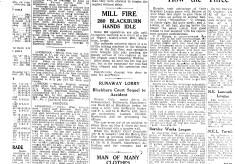 Higher Audley Street Mill Fire